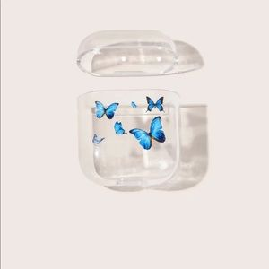 3/$25✨urban butterfly clear airpod case